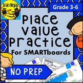 Place Value Interactive SMARTboard Slides