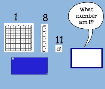 Place Value Practice Ones Tens Hundreds SmartBoard Lesson