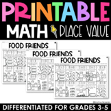 Place Value Practice - Printable No Prep Review