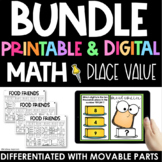 Place Value Practice - Printable and Digital - Interactive