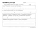 Place Value Practice: Second Grade Common Core