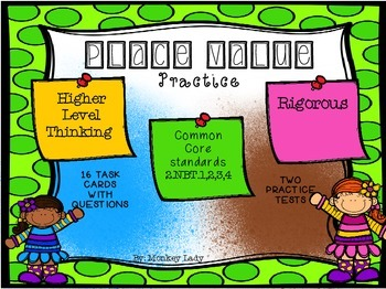 Place Value Practice Task Cards