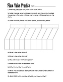 Place Value Practice Worksheet 4th Grade