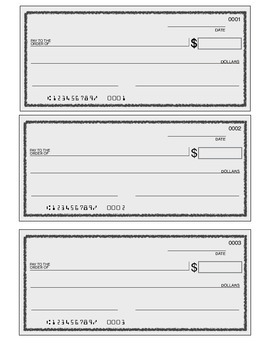 {FREEBIE} Place Value Practice Writing Word Forms by Writing a Check 4.NBT.A.2