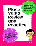 Place Value Practice and Review
