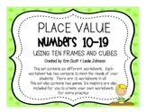 Place Value Practice (numbers 10-19)
