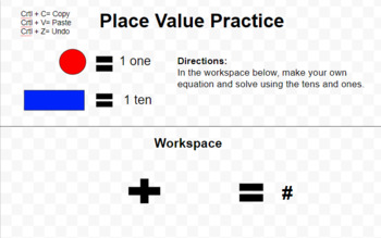 Place Value Practice with Google Drawings