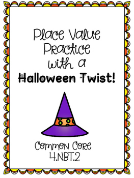 Place Value Practice with a Halloween Twist!