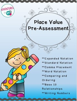Place Value Pre-Assessment