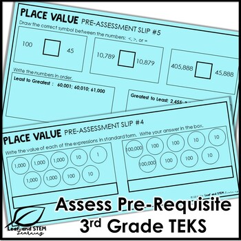 Place Value Pre-Assessment for 4th Grade | Free