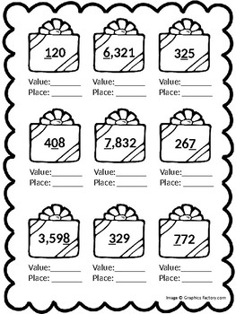 Place Value Presents