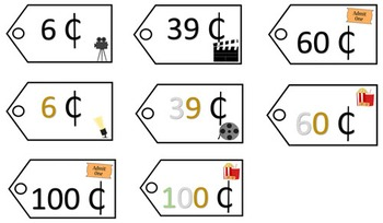 Place Value Price Tags - Collection 1