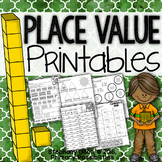 Place Value Printables {Homework, Seat Work, and More!}