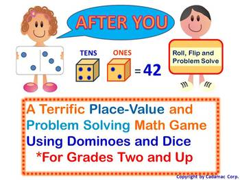 Place Value + Problem Solving = Fun Learning With Dominoes and Dice