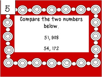 Place Value Problem of the Day (New TEKS aligned for 2014)