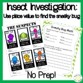 Place Value Project: Insect Investigation 4th and 5th Grade