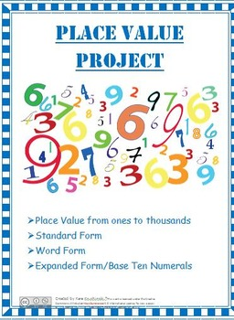Place Value Project - Primary