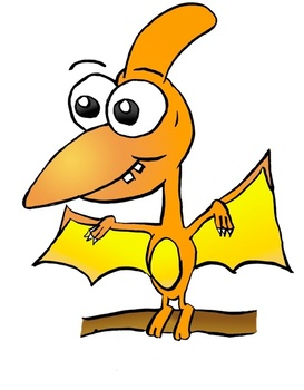 Place Value Pterodactyls ~ K~3rd Grade Math Problems Involving 3-Digit Numbers