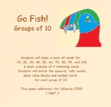 Place Value Puffins: Go Fish!  Groups of Ten