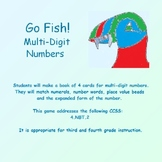 Place Value Puffins: Go Fish! Multi-digit Numbers