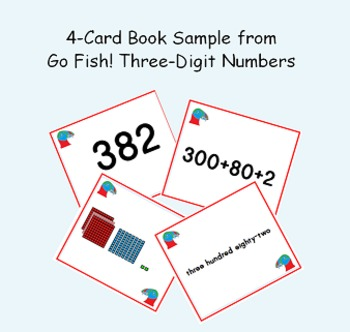 Place Value Puffins: Go Fish! Three-digit Numbers