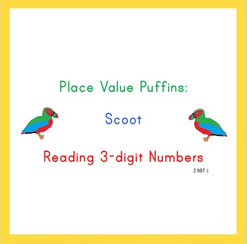 Place Value Puffins: Scoot! Three-Digit Numbers