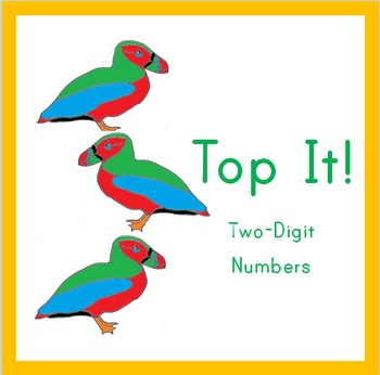 Place Value Puffins: Top It! Two-Digit Numbers