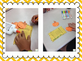 Place Value Pumpkin Patch Craftivity: Tens and Ones