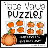 Halloween Math Center for Kindergarten
