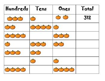Place Value Pumpkins