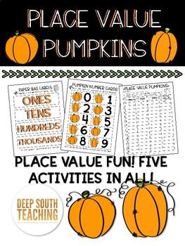 DST Place Value Pumpkin Pack!