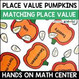 Place Value Pumpkins Center