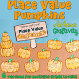 Place Value Craftivity (5 versions differentiated for mult