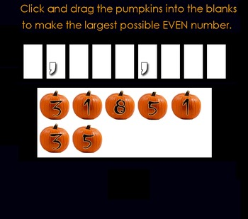 Place Value Pumpkins (FREE Halloween Math Fun for 4th and 5th Graders)
