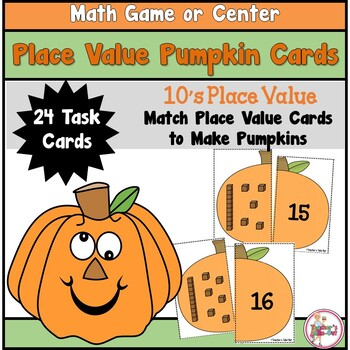 Place Value Pumpkins to 10's Place