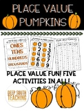 DST Place Value Pumpkin Pack!