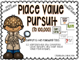 Place Value Pursuit (to 100,000): A Mystery Math Game: TEKS 3.2A
