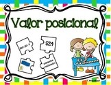 Place Value Puzzle - 3 digit (Spanish)