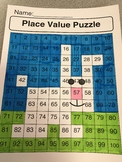 Place Value Puzzle Bunny