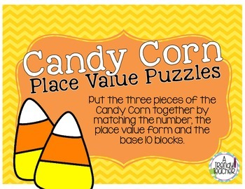 Place Value Puzzle (Fall Themed)
