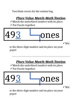 Place Value Puzzle Fun