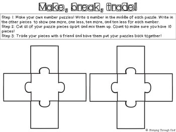 Place Value Puzzle Pack