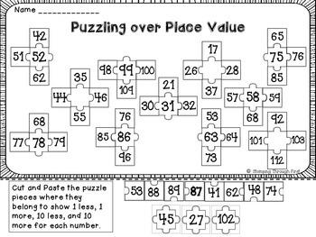 Place Value Puzzle Pack