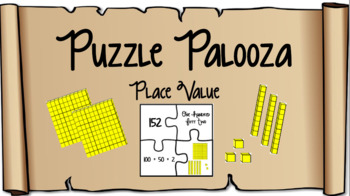 Place Value - Puzzle Palooza - Editable
