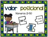 Place Value Puzzle (Spanish)