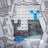 Place Value Puzzle Whale