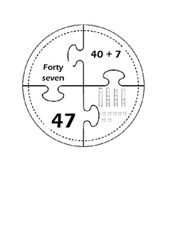 Place Value Puzzle Wheel