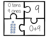 Place Value Puzzle (numbers 1-30) 4 piece set