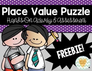 Place Value Puzzle to Billions-Activity & Assessment