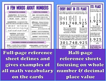 Place Value Puzzlers - reasoning about place value task cards (set b)